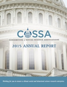 2015 COSSA Annual Report