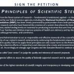 Advancing Principles of Scientific Stewardship blue